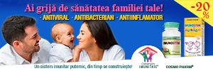 Campanie Imunitate Familie | Cosmo Pharm