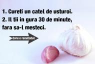Cureți un cățel de usturoi și îl ții în gură 30 de minute, fără să-l mesteci. Ce se întâmplă dacă faci asta dimineața