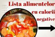 Cu cât mănânci mai mult, cu atât slăbești mai mult. Care sunt alimentele cu calorii negative