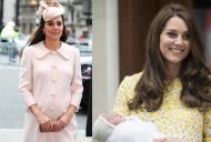 Cum a slabit ducesa Kate dupa cele doua nasteri