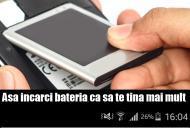 Uite cum se încarcă telefonul dacă vrei să te țină bateria mai mult
