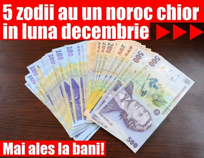 5 zodii au un noroc chior in decembrie, mai ales la bani