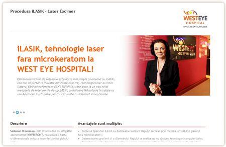 iLASIK, tehnologie laser fara microkeratom la WEST EYE HOSPITAL!