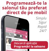 Programeaza-te la salonul tau preferat direct de pe mobil