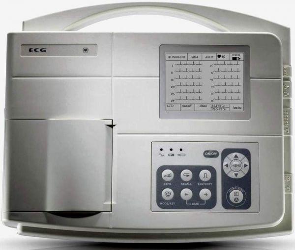 000EC300B-Electrocardiograf cu 3 canale-SE300B