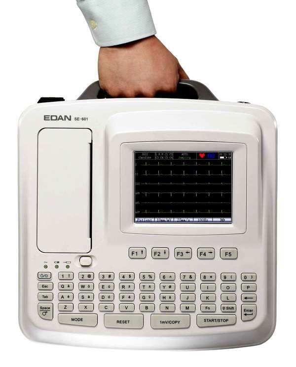 000EC601C-Electrocardiograf cu 6 canale-SE601C