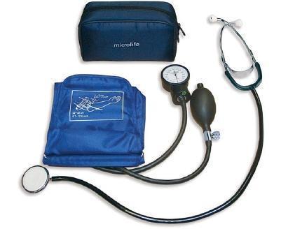 Tensiometru aneroid cu stetoscop ag1-20 microlife elvetia