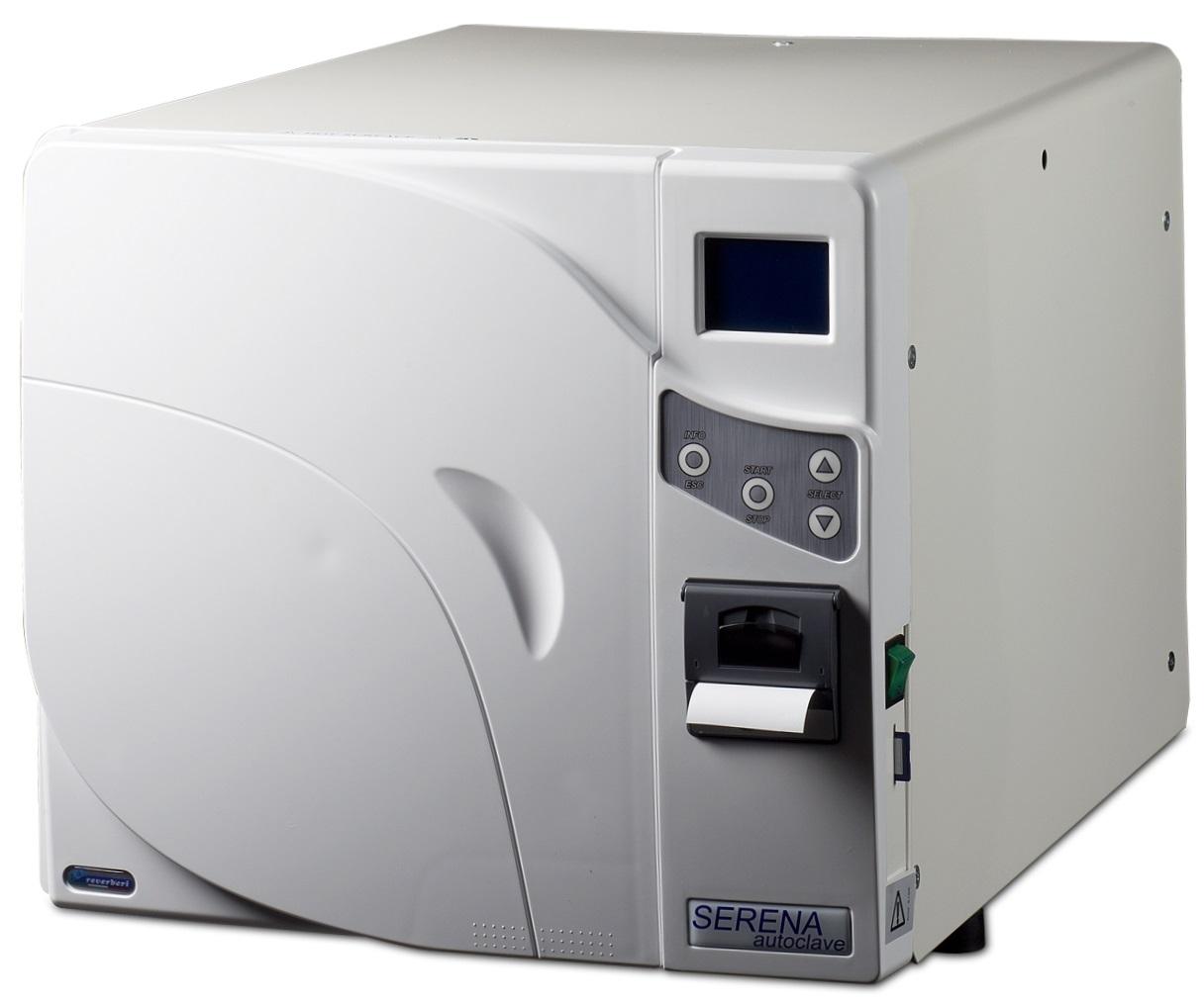 Autoclav Clasa sterilizare B, cu imprimanta incorporata  Serena B18 (Italia)