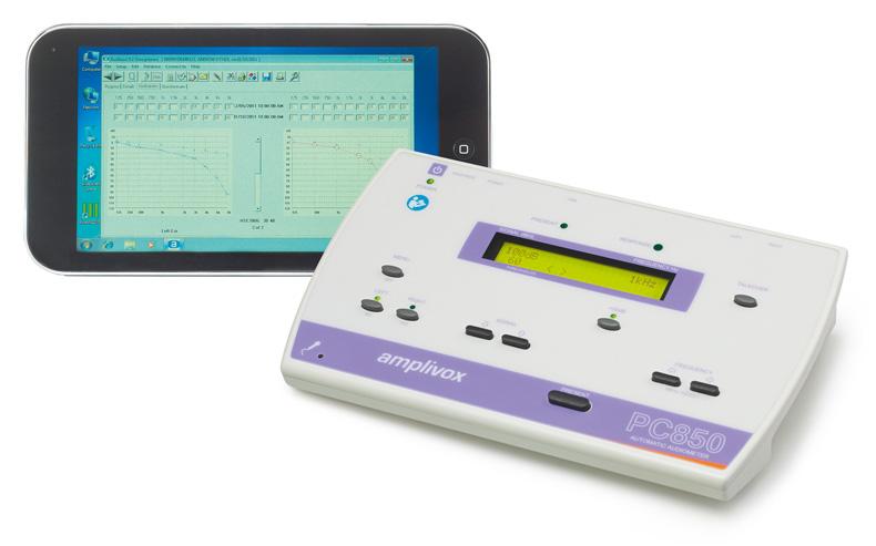 Audiometru pc850 amplivox -
