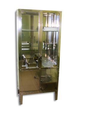 Dulap metalic medicamente / instrumente, vopsit in camp electrostatic, diverse culori