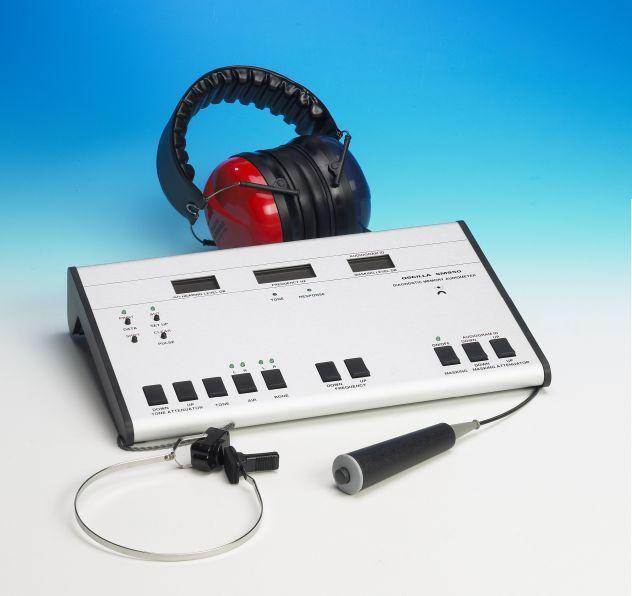 Audiometru de diagnostic cu memorie oscilla sm950