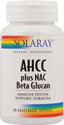Ahcc® plus nac & beta glucan 30 capsule vegetale