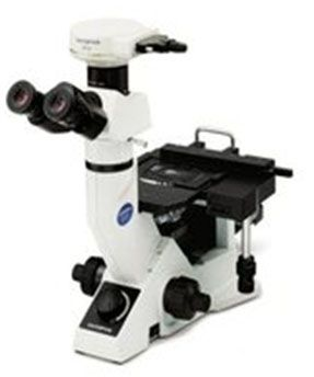 Olympus GX41 - microscop inversat metalografic de mici dimensiuni