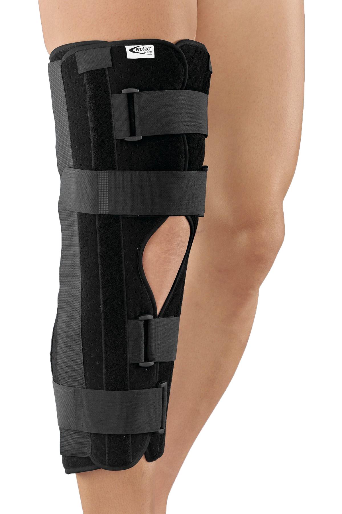 Orteză de genunchi cu imobilizare la 0 °