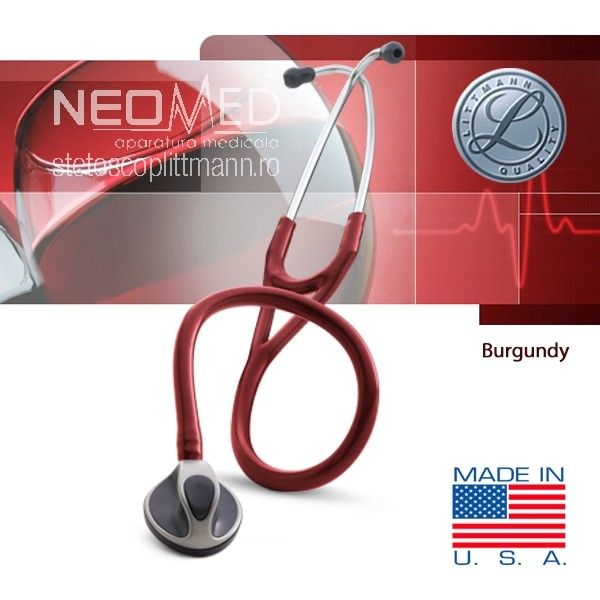 0cardiology s.t.c. (capsula cu atingere usoara) - stetoscop 3m™ littmann®, 69 cm
