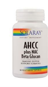 AHCC® plus NAC & Beta Glucan 30cps