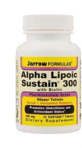 Alpha Lipoic Sustain 300mg 30tb
