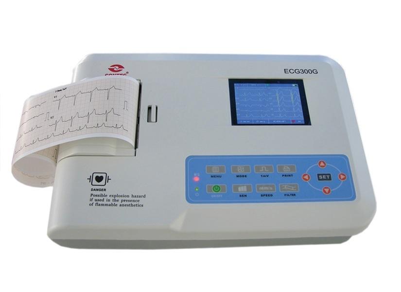 Electrocardiograf ecg cms 300g