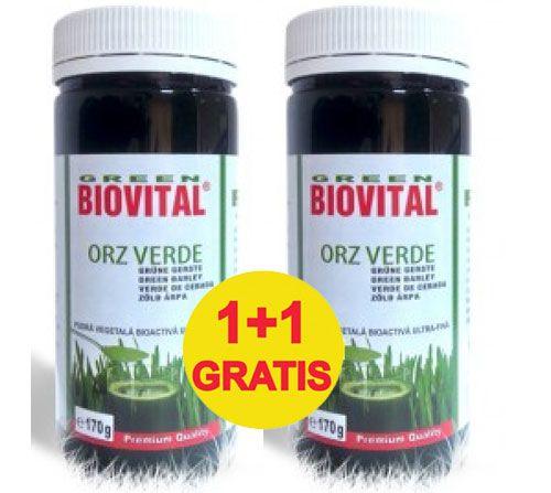 Orz Verde Pulbere 100gr, 1+1 gratis Biovital