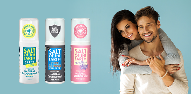 Deodorante 100% naturale Salt of the Earth