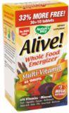 33% CADOU la complexul de vitamine si minerale Alive! (fara fier)
