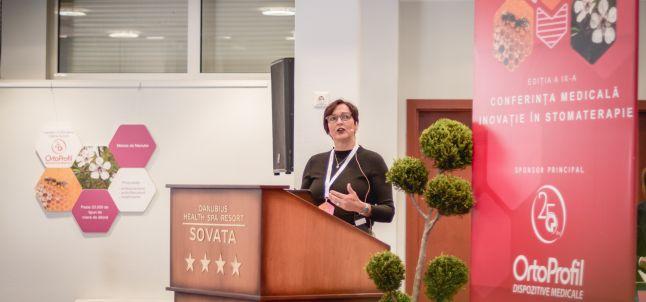 """A IX-a Conferinta Nationala Inovatie in Stomaterapie: """"Imbunatatirea calitatii vietii pacientilor stomizati, o provocare continua pentru specialistii din domeniul stomaterapiei"""""""
