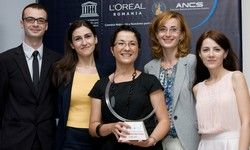 Dr. Ruxandra Jurcut a castigat prima bursa nationala acordata femeilor cercetator