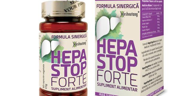 HepaStopForte - Suplimentul cheie in afectiunile grave ale ficatului