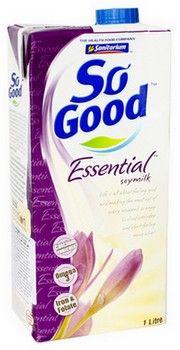 Laptele din soia So Good Essential: un produs ideal  pentru post si pentru vegetarieni