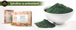 Spirulina ca antioxidant  - studii clinice