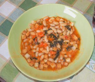 Supa toscana de fasole alba