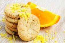 Biscuiti cu aroma de portocale