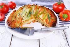 Budinca moale cu legume