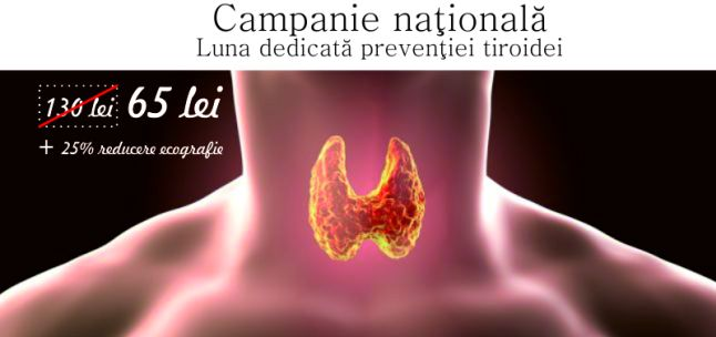 Campanie nationala de preventie a bolilor de tiroida initiata de Gral Medical