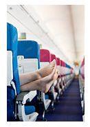 Riscul aparitiei cheagurilor de sange in timpul zborului cu avionul