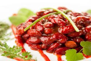 Fasole rosie cu legume