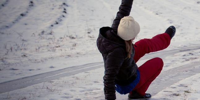 Iarna - sezonul fracturilor si al entorselor