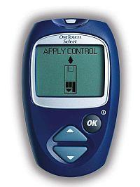 Glucometru aparat de monitorizat glicemia one touch select plus.