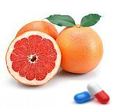 Sucul de grapefruit poate interactiona cu anumite medicamente