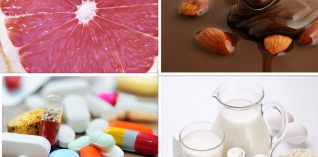 Alimentele care pot interactiona cu medicatia