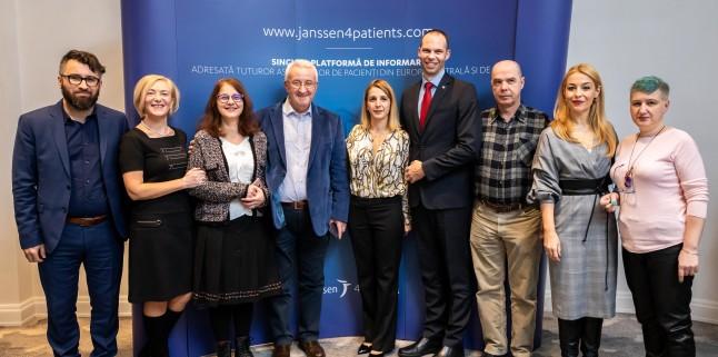 Janssen lanseaza prima platforma online dedicata asociatiilor de pacienti din Romania si Europa Centrala si de Est, Janssen4Patients