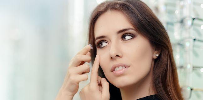 Lucruri mai putin cunoscute despre lentilele de contact