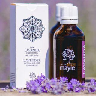 5 aplicatii medicale ale uleiului esential de lavandă Mayie. Le stiai?