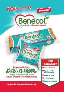Painea Benecol reduce eficient colesterolul seric
