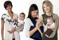 Port-bebe-ul sau marsupiul, pericol pentru coloana vertebrala a bebelusilor