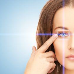 tulburări de vedere congenitale plutind pe marginea vederii
