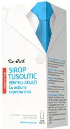 Lupta eficient impotriva tusei cu Dr. Hart Sirop Tusolitic!