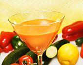 Suc de legume si fructe special creat pentru diabetici