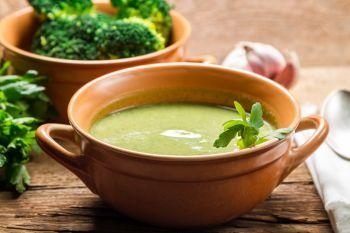 Supa crema de broccoli si praz