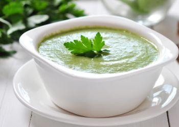 Supa crema de legume verzi